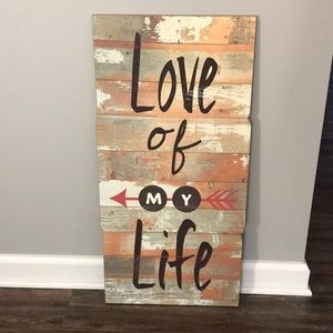 Other - Love of My Life Home Decor